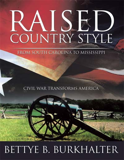 Raised Country Style from South Carolina to Mississippi: Civil War Transforms America